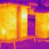Zimující včelstva v infračerveném pohledu